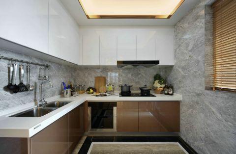 厨房隔断混搭风格装饰图片