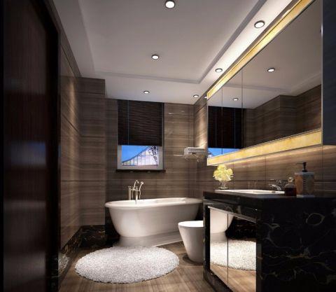 卫生间吊顶简欧风格装饰图片