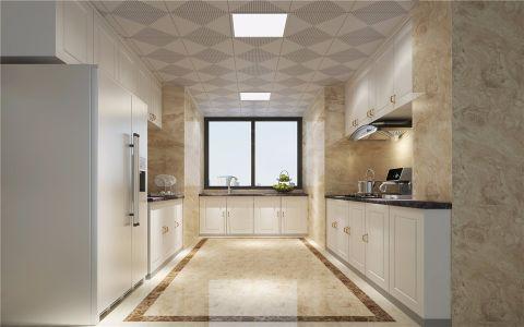 厨房背景墙欧式风格效果图