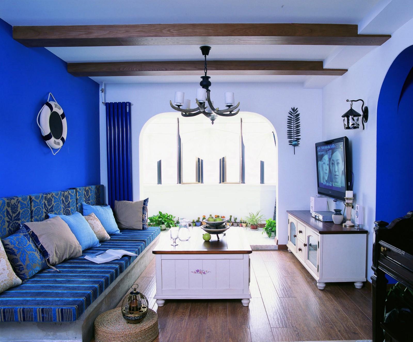 2室1卫2厅80平米地中海风格