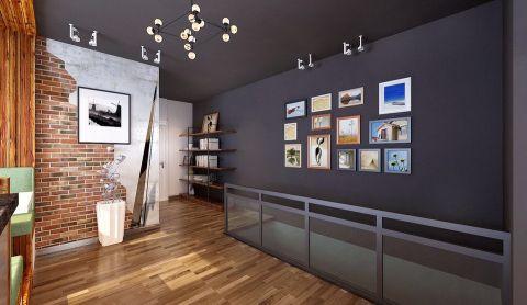 客厅楼梯后现代风格装饰设计图片