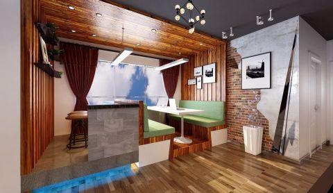 餐厅窗帘后现代风格效果图
