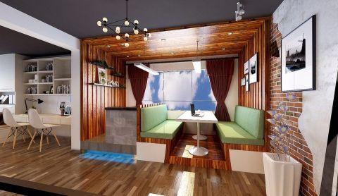 餐厅照片墙后现代风格装饰效果图