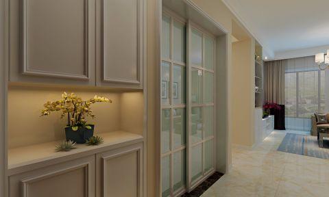 玄关推拉门现代简约风格装潢设计图片