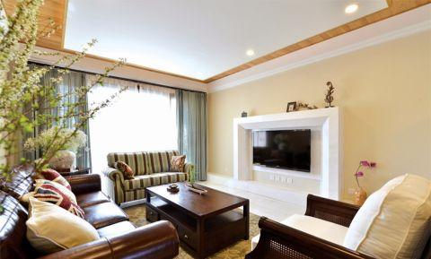 9.4万预算120平米三室两厅装修效果图