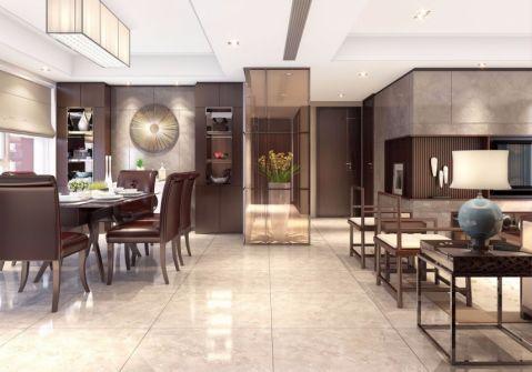 30万预算120平米三室两厅装修效果图
