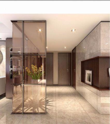 玄关隔断新中式风格装饰效果图