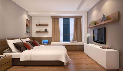 卧室电视柜简约风格装潢效果图