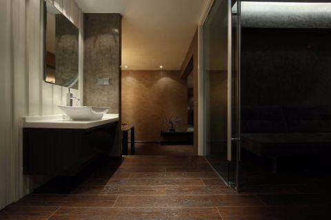 卫生间洗漱台现代风格装修设计图片