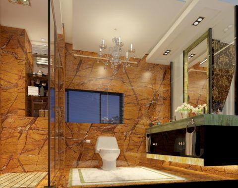 卫生间吊顶简欧风格装潢效果图