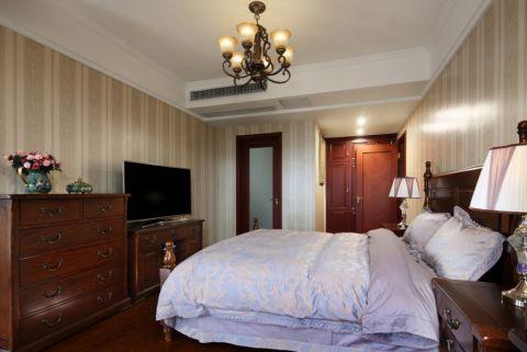 卧室电视柜美式风格装饰图片