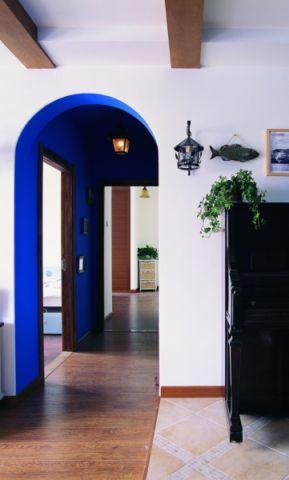 客厅走廊地中海风格装饰图片