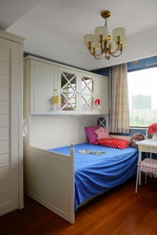 儿童房吊顶现代简约风格装修设计图片