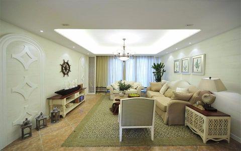 客厅简欧风格装修效果图