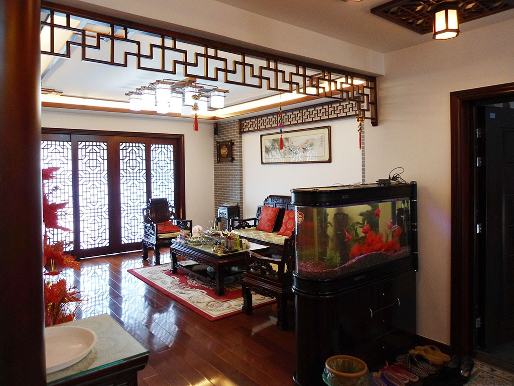 3室1卫2厅130平米中式风格