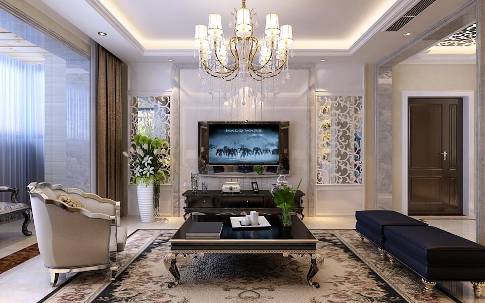 3室1卫1厅140平米简欧风格