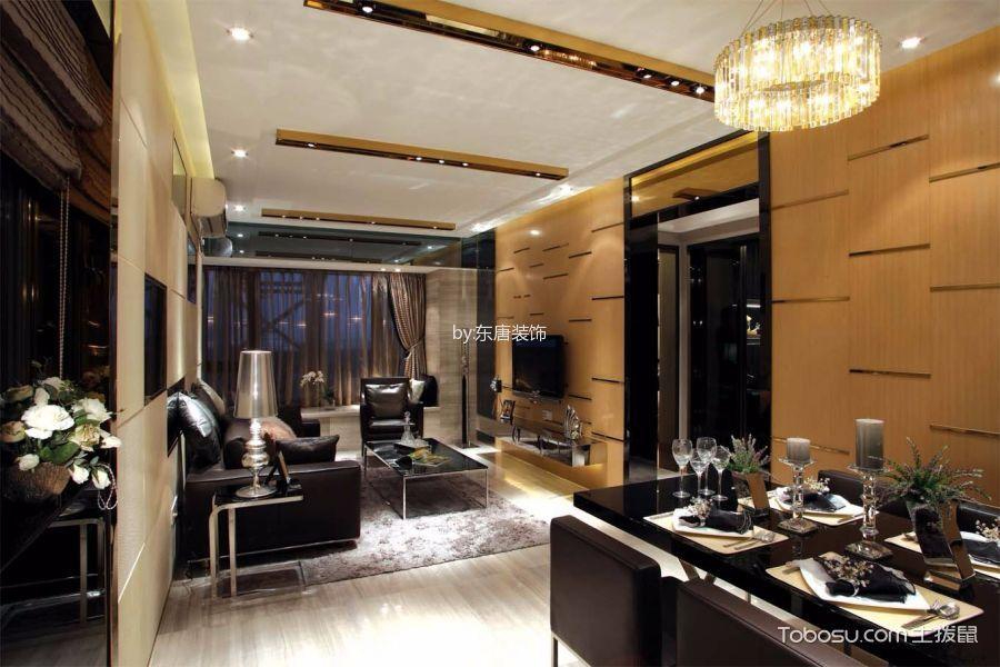 鸿威海怡湾畔二室一厅装修效果图