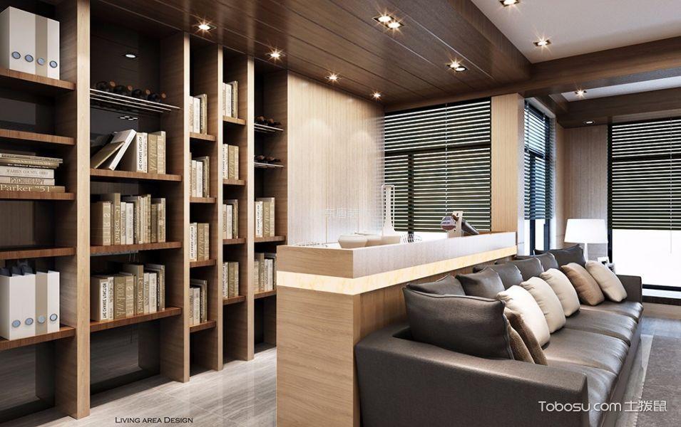 6万预算140平米三室两厅装修效果图