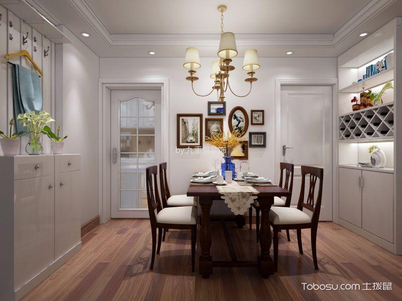 餐厅 餐桌_13万预算120平米三室两厅装修效果图