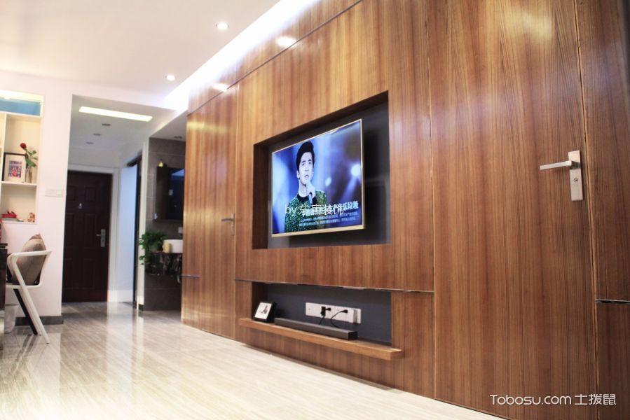 香溢紫郡二居室现代简约实景图