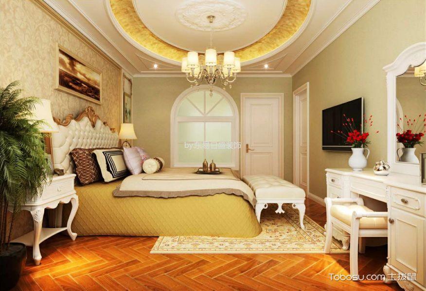 卧室白色梳妆台欧式风格装饰效果图