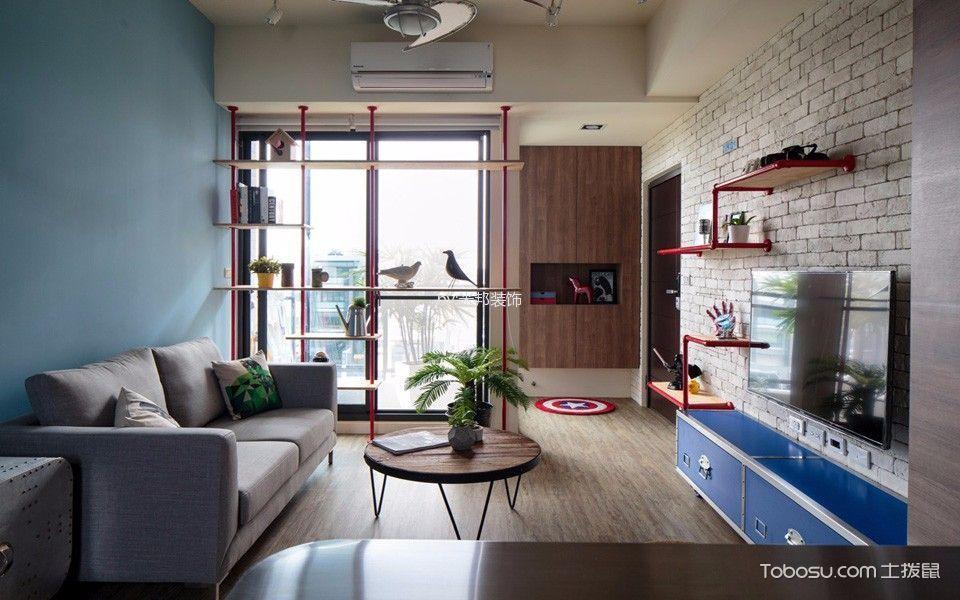 4.3万预算90平米公寓装修效果图