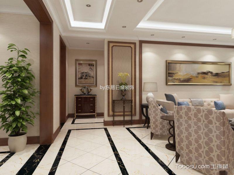 雍锦台140平米简欧风格效果图
