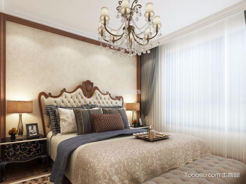 10万预算140平米三室两厅装修效果图