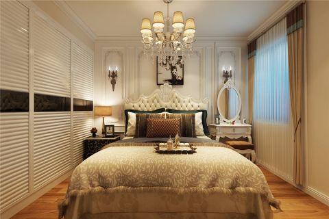 卧室推拉门简欧风格装饰效果图