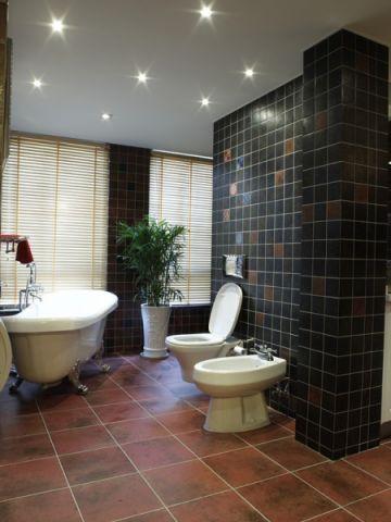 卫生间吊顶美式风格装潢设计图片