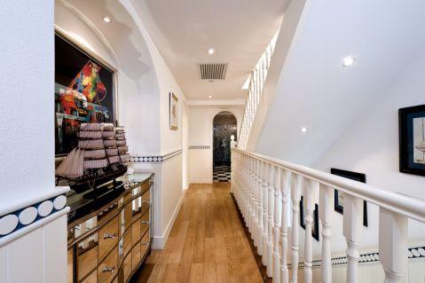 客厅走廊地中海风格装潢设计图片