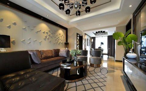 12万预算135平米三室两厅装修效果图