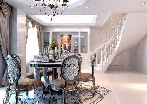 餐厅楼梯欧式风格装饰效果图