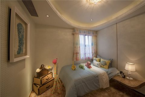 卧室吊顶简欧风格装饰图片