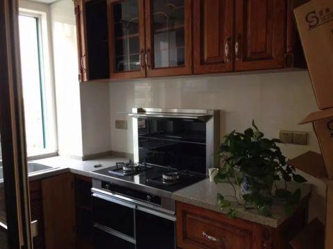 厨房背景墙新中式风格装修设计图片