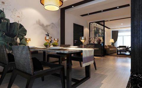11.8万预算120平米两室两厅装修效果图
