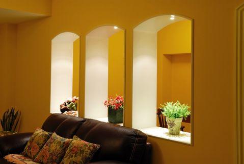 客厅阁楼美式风格装饰图片