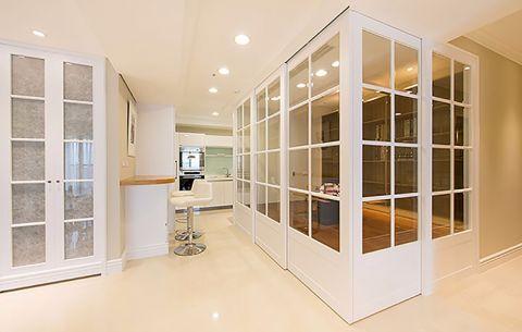 东海柠檬郡现代简约风格二居室装修效果图