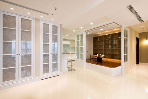 客厅门厅现代简约风格装饰设计图片
