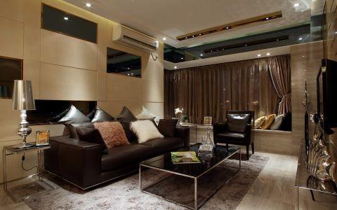 6.25万预算120平米三室两厅装修效果图