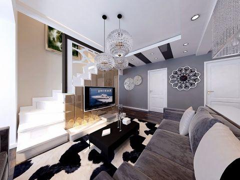 客厅吊顶现代风格效果图