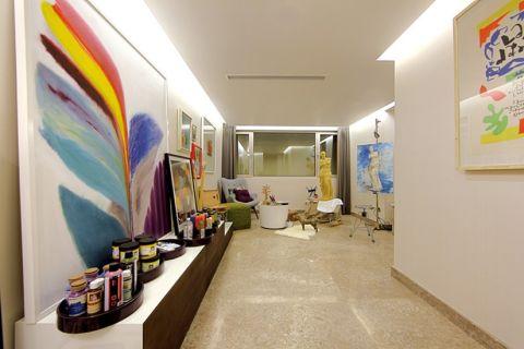 客厅阁楼混搭风格装饰效果图
