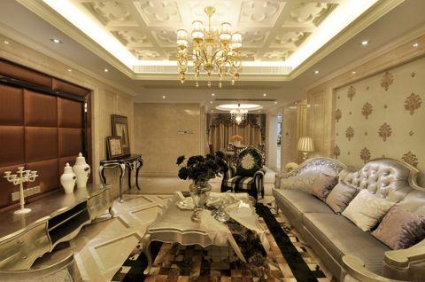 30万预算200平米四室两厅装修效果图