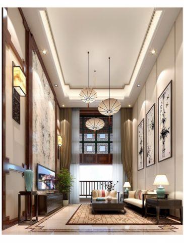 东湖林语滨河绿苑新中式套房家居设计