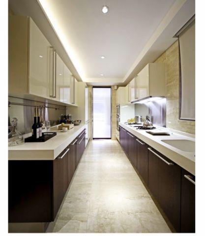 厨房吊顶新中式风格装潢设计图片