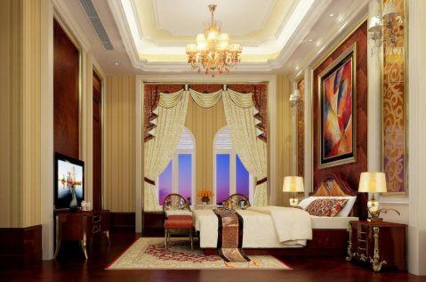 卧室窗台北欧风格装修效果图