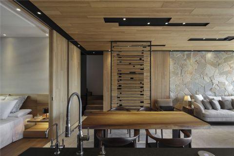 餐厅门厅新中式风格装潢图片