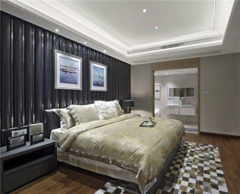 卧室背景墙简约风格装修效果图