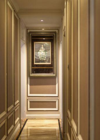 玄关背景墙欧式风格装饰图片