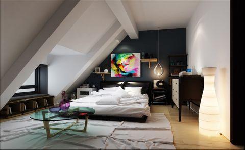 卧室阁楼现代简约风格装饰设计图片